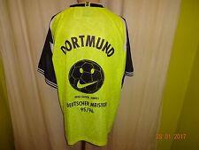 "Borussia Dortmund Nike Heim Trikot 1995/96 ""Geile Saison,Jungs!"" Gr.XXL TOP"