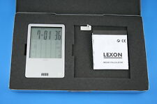 Vintage LEXON Magik Magic Aluminum Calculator Touch Screen Display RARE - 1998?