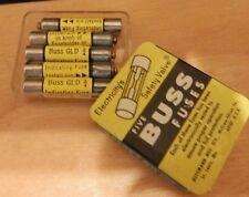 5 pcs  BUSSMAN GLD 3/4 FUSE 3/4 AMP 125 VOLT INDICATING FUSE GLD3/4  Made in USA