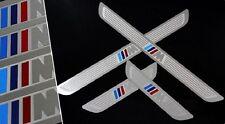 Acier inoxydable porte sill éraflures guards protector pour bmw m sport X1, 2007-2015