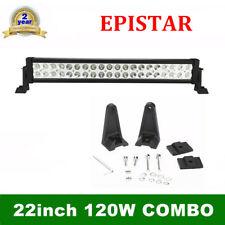 """22"""" Inch 120W LED WORK LIGHT BAR COMBO OFFROAD CAR UTE SUV LAMP ATV for Ford 24'"""