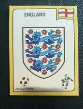 1990 PANINI ITALIA 90 ORIGINAL UNUSED ENGLAND    BADGE STICKER #382