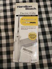 HAMILTON BEACH ELECTRIC KNIFE - MODEL 74378R