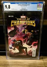 CONTEST OF CHAMPIONS # 4, KABAM GAME 1:10 INCENTIVE VARIANT CGC 9.8 Jane Foster