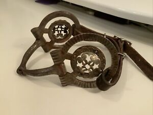 Marked Cloud JR Silver Inlay Snaffle Bit Vintage Show Bridle
