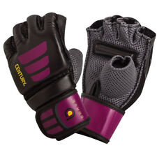 Century Women's Brave Grip Bar MMA Training Bag Gloves - M/L - Black/Pink