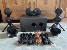 Technics Surround System 1x SB-W200, 1x SB-C200, 2x SB-F200, 2x SB-CS200E-K TOP