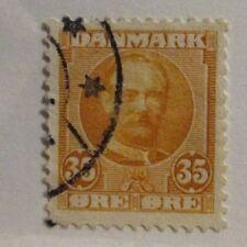 Denmark Scott #76  Θ used, stamp, fine + 102 card