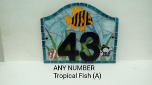 House Plaque Door Number Plate
