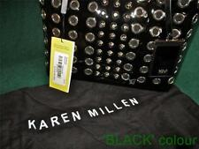 Karen Millen Clasp Leather Outer Totes