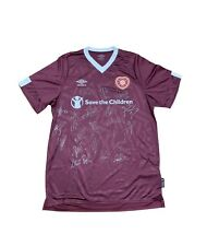 Official HMFC 19/20 Home Top Boxed Signed Top Hearts Shirt