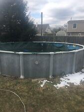 Above ground Swimming Pool w/ pump 24''