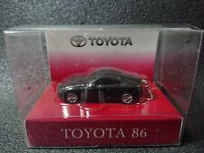 TOYOTA 86 LED Light Keychain Black Pull Back Mini Car  Japan