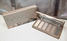 Urban Decay Naked2 Basics Eyeshadow Palette 6 Taupe Hued Neutrals Authentic Nib