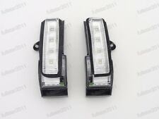 1Pair Door Mirror Turn Signal Light Lamps For Ford F150 High Configuration