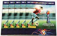 Panini Women´s World Cup 2019 France - 5 x empty album incl. 6 free stickers