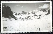 photo ancienne  .Alpes . Savoie . col du Palet . 1936