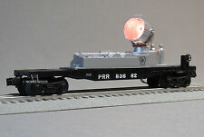 LIONEL PRR PENNSYLVANIA LIGHTED SEARCHLIGHT CAR 83662 o gauge 6-83659 SC NEW