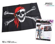 Drapeau de Pirate 90x150 Jeu Enfant Pirate Flag Tête de Mort