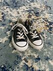 CONVERSE+black+kids+shoes+girls+boys+Size+12+preowned
