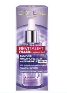 L'Oreal Paris Revitalift FILLER AntiWrinkle 1.5% Pure Hyaluronic Acid Serum 30ml