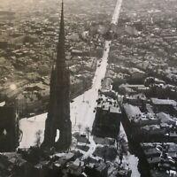 🦋photo Aérienne BORDEAUX fleche St Michel Capucins Année 50-60