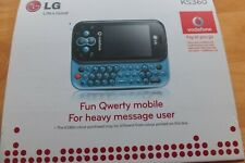 Excellent Condition LG KS360 - Qwerty Keyboard Unlocked Mobile Phone