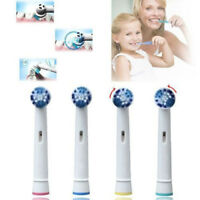 8Pcs Oral Care Electric Toothbrush Replacement Heads For Oral B Braun Toothbrush