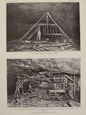 Pioneer Mine Timbering Filling Vermilion Iron Ore Basin Ely Minnesota 1903