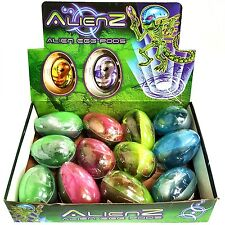 Box of 12 Alien Egg Pod Toys Full of Slime - Fun Childrens Toys Birthday Fillers