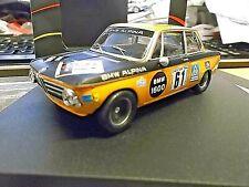 BMW 2002 1600 #61 Alpina Tuning DRM Nürburgring Lauda #61 1970  Trofeu 1:43