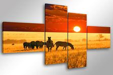 Quadro su Tela Quadri Moderni XXL cm 200x100 AFRICA Arredamento Arte Arredo
