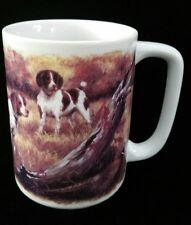 Springer Spaniels Hunting A Pheasant Otagiri Coffee Mug Tea Cup by Linda Picken