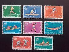 1988 - Romania - Summer Olympic Games Seul , Mi. 4475 - 4482,   MNH
