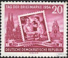 DDR 445A (kompl.Ausg.) postfrisch 1954 Tag der Briefmarke