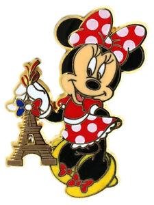 2013 Disney Minnie holding Eiffel Tower Pin N5