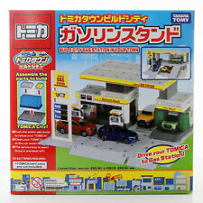Takara Tomy Tomica Town Build City Series Building Blocks Toys Gas Station New