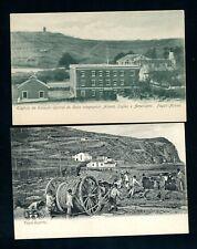Azores, Fayal Telegraph Company Postcards  (2)       (Jy585)