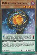 3X YU-GI-OH CARD: D/D SAVANT COPERNICUS - SDPD-EN003 1ST EDITION