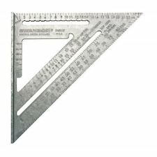 Swanson 25cm Metric Speed Roofing Rafter Angle Square WITH Blue Instruction Book