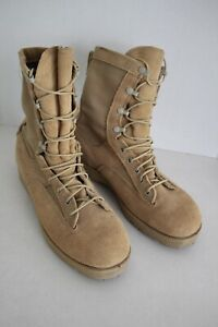 BELLEVILLE US Army Issue Gore-Tex Waterproof Tan Combat Desert Boots 9.5 R New