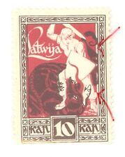 LATVIA LETTLAND 1919-20s 10 Kop. Sc 64 MNH ERROR 723