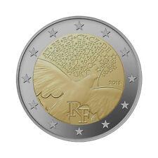 """France 2 Euro commemorative coin 2015 - """"Peace"""" - UNC"""