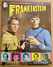Castle of Frankenstein vintage magazine Star Trek 1969 issue vintage #14 Karloff