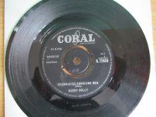 Brown Eyed Handsome Man / Slippin Slidin - Buddy Holly ~ (Coral Q.72459) ~ 1963