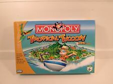Monopoly Tropical Tycoon DVD Game by Parker Brothers 2007 Complete