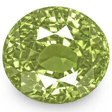 5.49-Carat Rare Flawless Fiery Yellowish Green Alexandrite (Certified by GIA)
