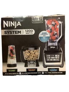 NEW Ninja BL910 1200 Watts Auto-IQ Food Blender System - Black NEW