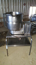 Groen Electric TBD/4-10 Gal. Stainless Steel Jacketed Tilting Steam Soup Kettle