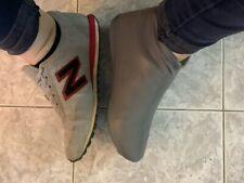 Waterproof Rain Shoes Covers Rubber Reusable Slip-Resistant Latex Overshoes
